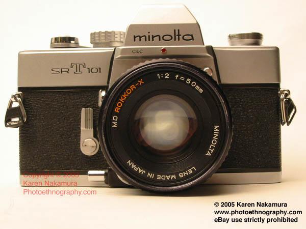 Minolta SRT 101/201. by Karen Nakamura